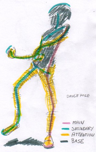 Dance pose