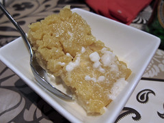 Semolina in Coconut Cream