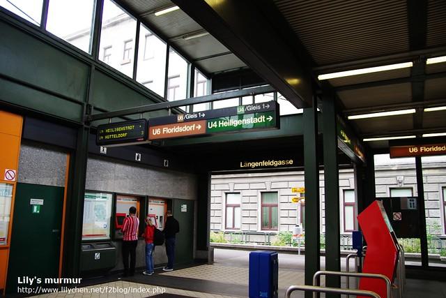 U-Bahn地鐵站內完全沒有英文標示,搭乘前請先做好功課。