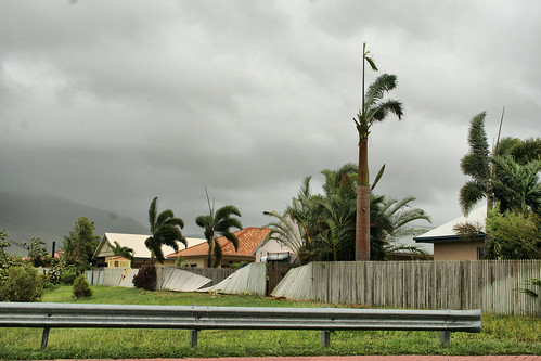 Cyclone Yasi storm Damage - More to come in next few hours