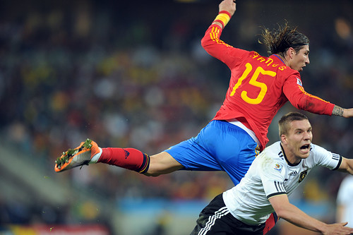 World Cup 2010 South Africa: Spain v Germany