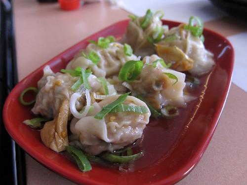 Spicy Wonton at Yen Yen Taiwanese Street Food