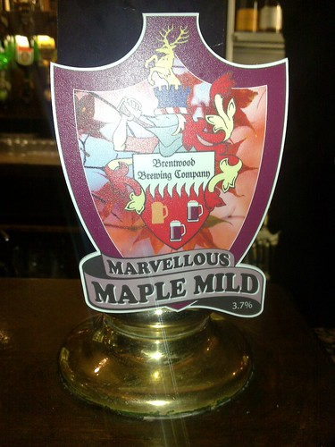 Marvellous Maple Mild - a beer by Brentwood brewery