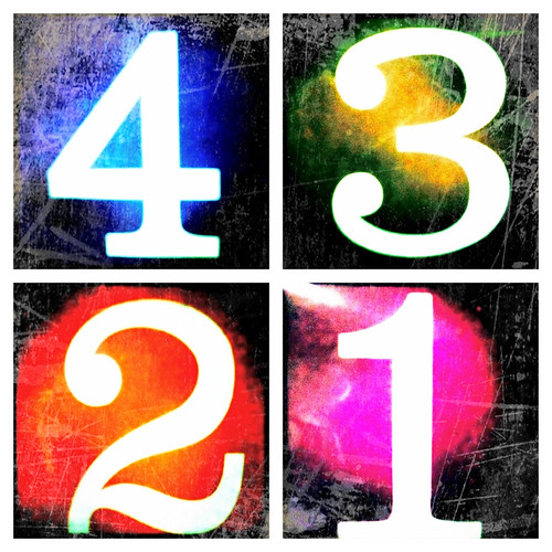 Four. 4. IV. by Jenny Leigh, on Flickr