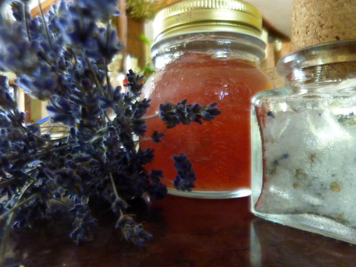 lavender in the kitchen