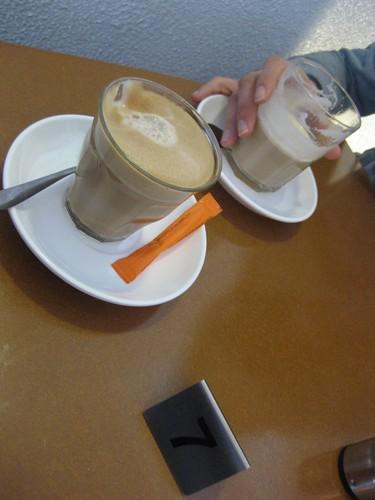 coffee, chai