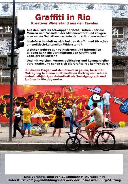 graffiti in rio vortrag in koloni