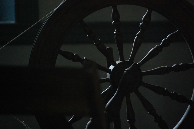 Spinning Wheel at Dusk