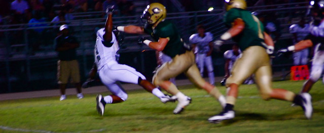 hs football: northwoods @ east chapel hill