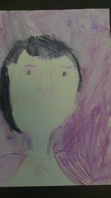 云莉自畫像