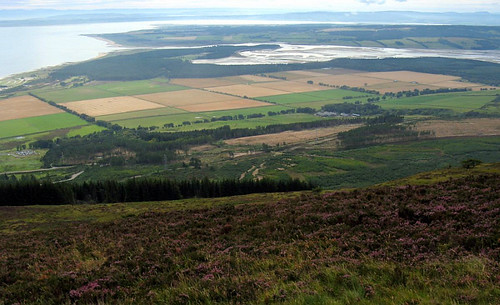 Loch Fleet from Ben Bhraggie