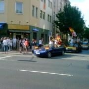 WM Autokorso in der Friedrichstadt