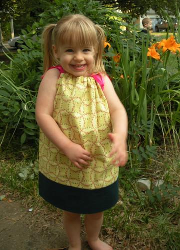 pillowcase dress yellow (2)