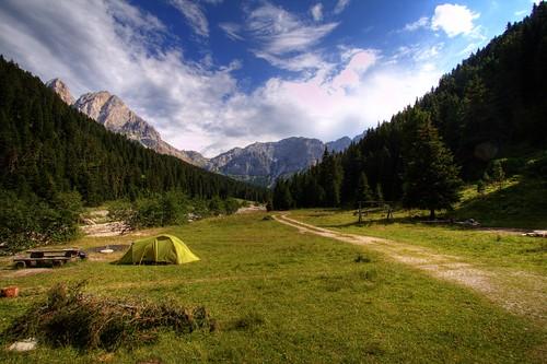 Der schönste Campingplatz der Welt