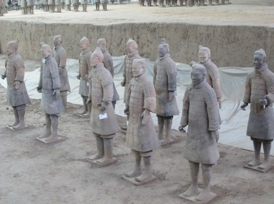 Terracotta Warriors - Look at Faces
