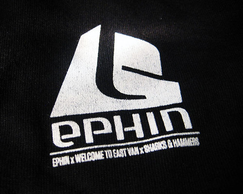 welcome to eastvan x ephin x sharks and hammers