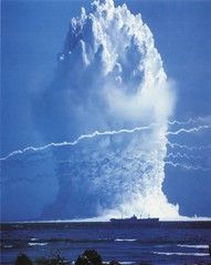 'Hardtack Umbrella'  underwater nuclear test -...