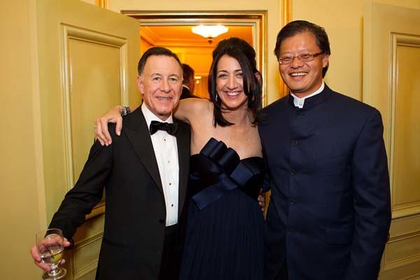 Carl Pascarella, Pam Baer, Jerry Yang