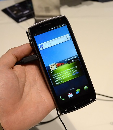 MWC 2011 Cмартфоны Acer — Iconia и другие