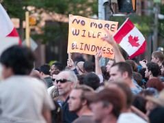 Canada Day Protest 2010