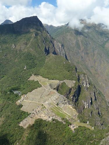 Blick auf Machu Picchu von Waynapicchu