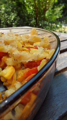 Parmentier de légumes au curry / Vegetables with curry Parmentier