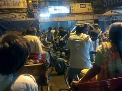 Chaos at Chandni Chowk