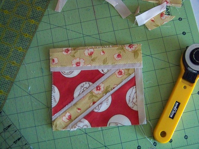 paper pieced union jack flag quilt block for fresh modern bee