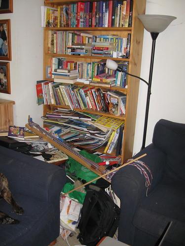 Lounge room, 1st corner (before)