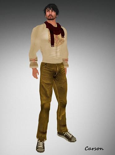 22769 cordury jeans and ethnic longsleeve shirt jaunty sale 49L