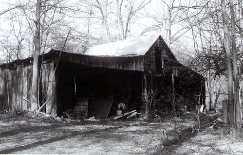 One of the sheds / barns that my Papaw Jones built himself