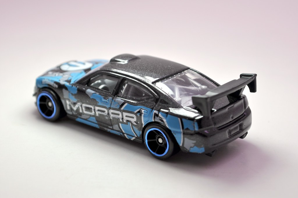 hws dodge charger drift car black (3)