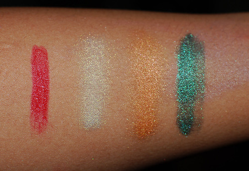 Lime Crime-swatches