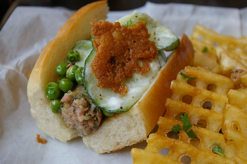 Lamb Keema hot dog