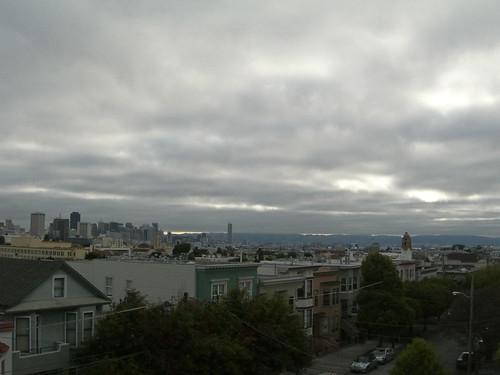 San Francisco Skyline, an August morning 2010