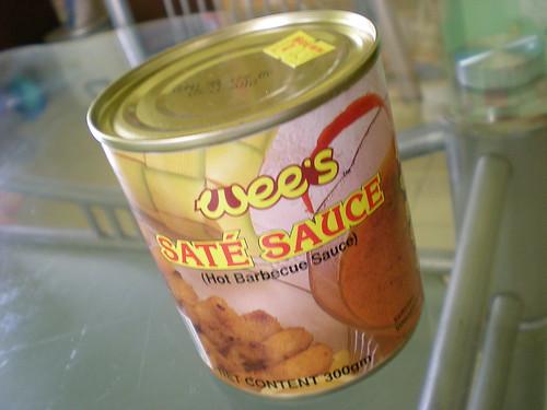 wee's sate sauce