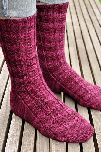 Shibui Socks: Hawthorne