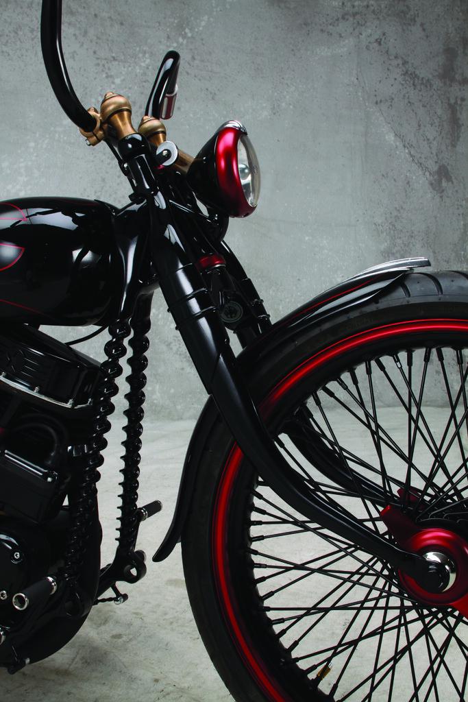 Ferry Clot's Panafina Motorbike