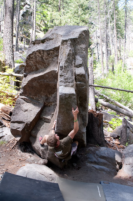 Leavenworth Bouldering Photos