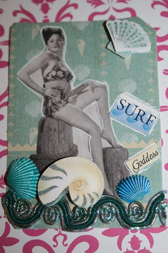 Pin-up Surf Goddess for Swap-bot.com