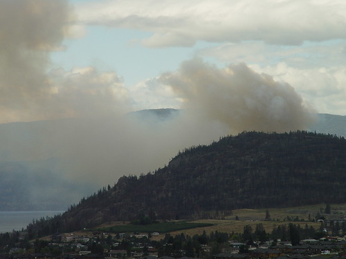 Peachland Fire, 2010