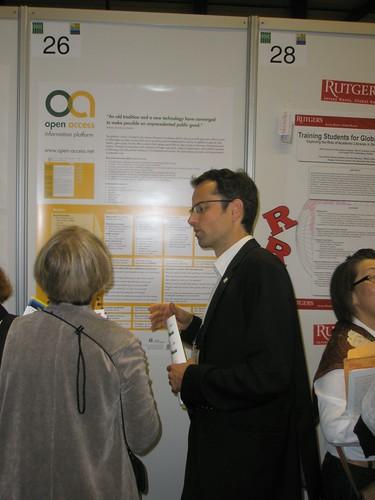 """Information Platform open-access.net: A Blueprint for Promoting Open Access (OA)"" Presenter: Oliver Kohl-Frey, Germany"
