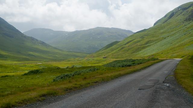 Road through Glen More