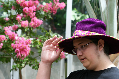 A tip of the hat by quinn.anya, on Flickr