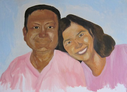 portrait - mom and dad (unfinished)13