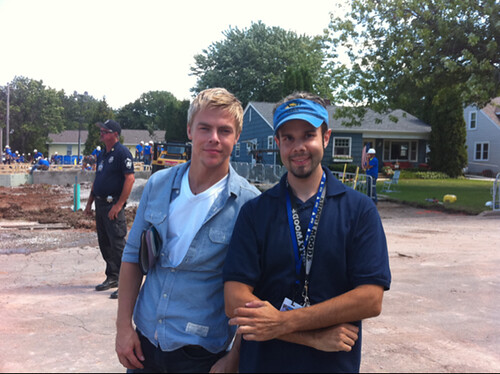Me & Derek Hough
