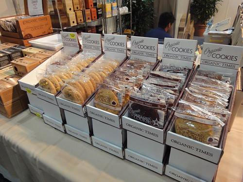 Organic Times cookies