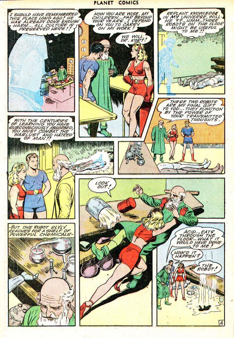 Planet Comics 35 - Mysta (March 1945) 04
