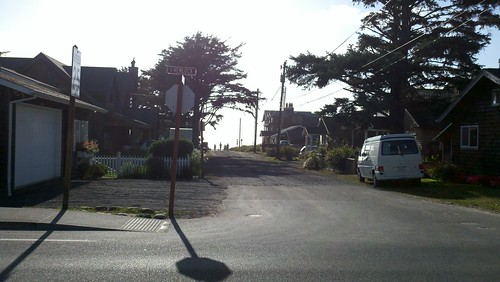 One block to the beach