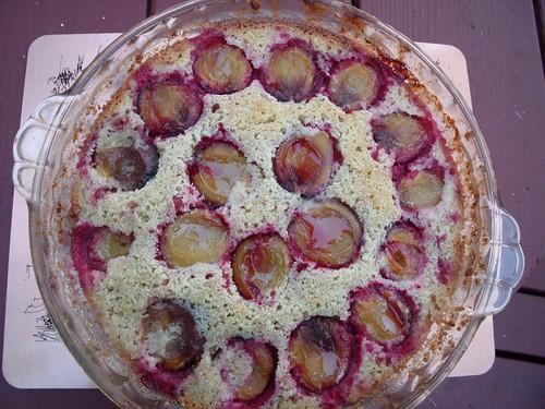 Almond Plum Cake